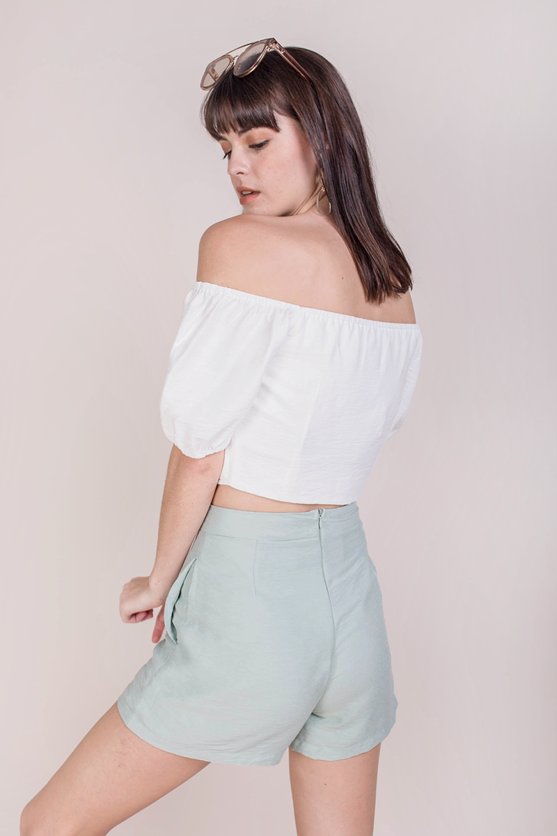 Ace Two Way Top (White)