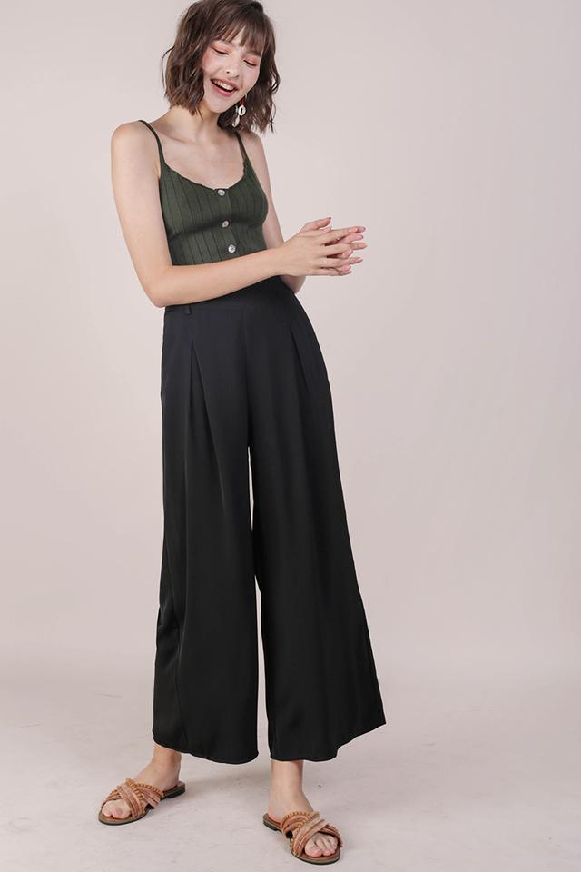 Bondi Flowy Pants (Black)