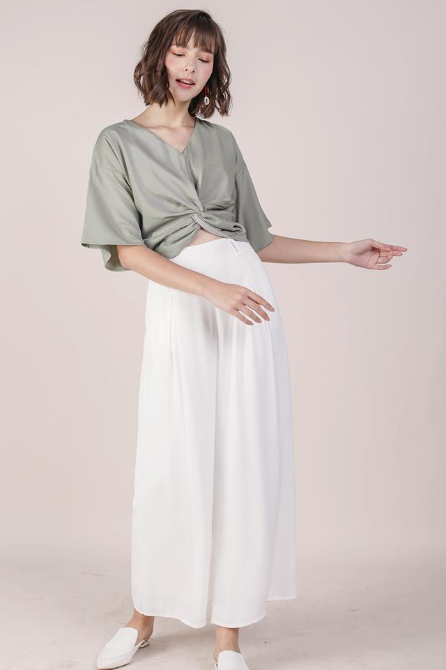 Bondi Flowy Pants (White)