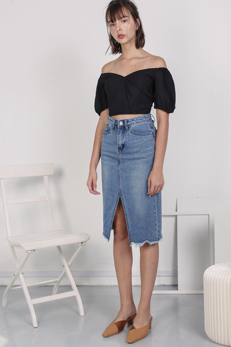 Ace Two Way Top (Black)