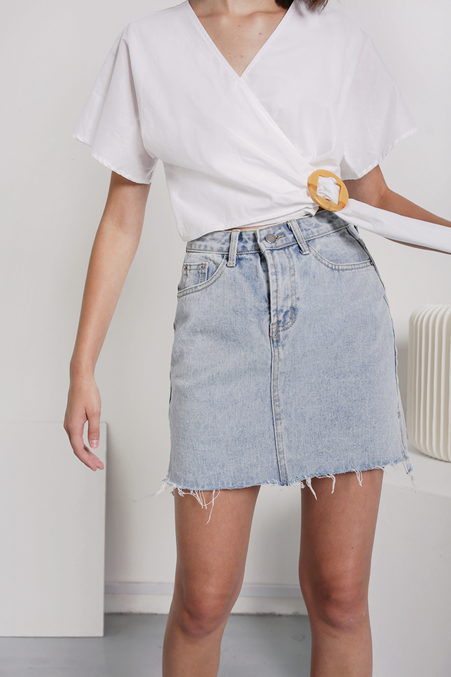 Sander Denim Skirt