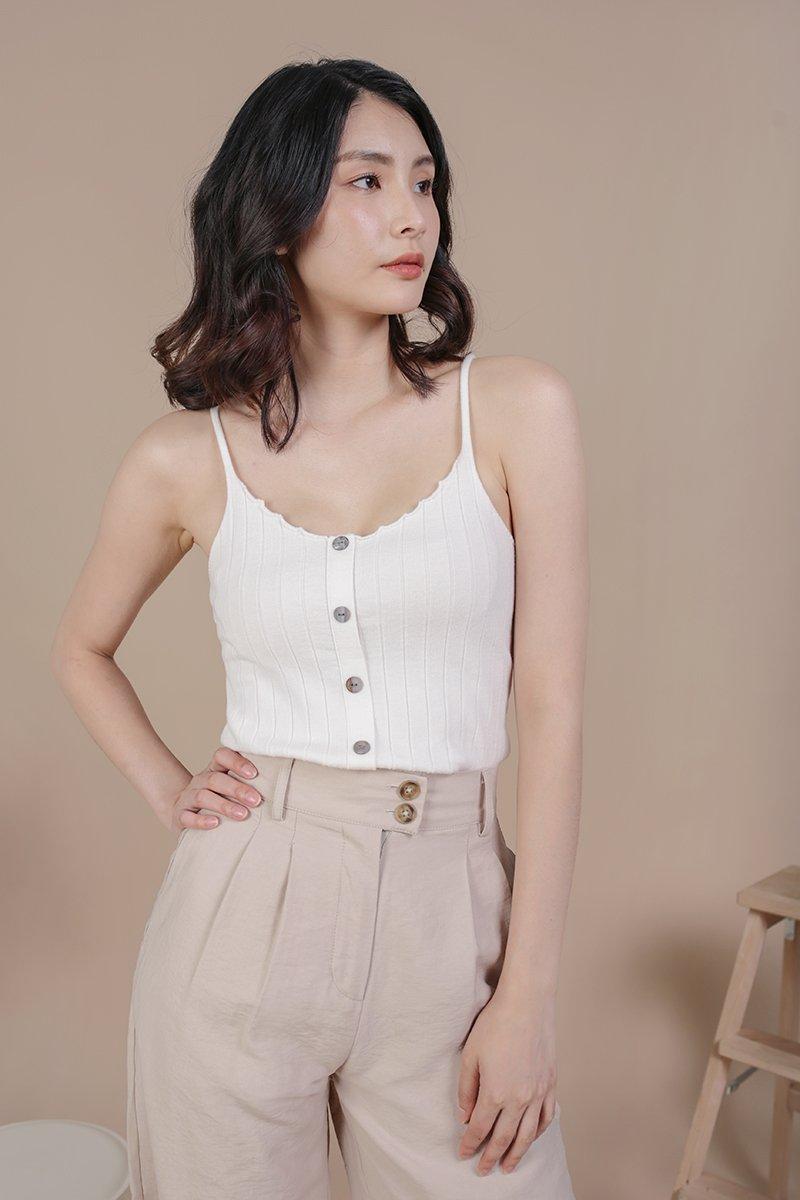 Alysia Knit Top (White)