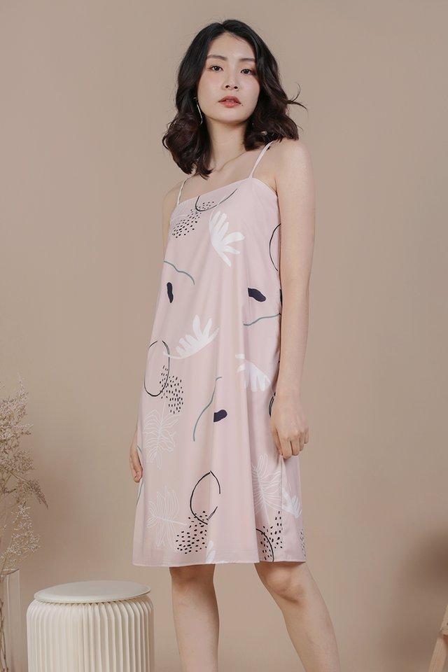 Forelle Midi Dress (Botany)