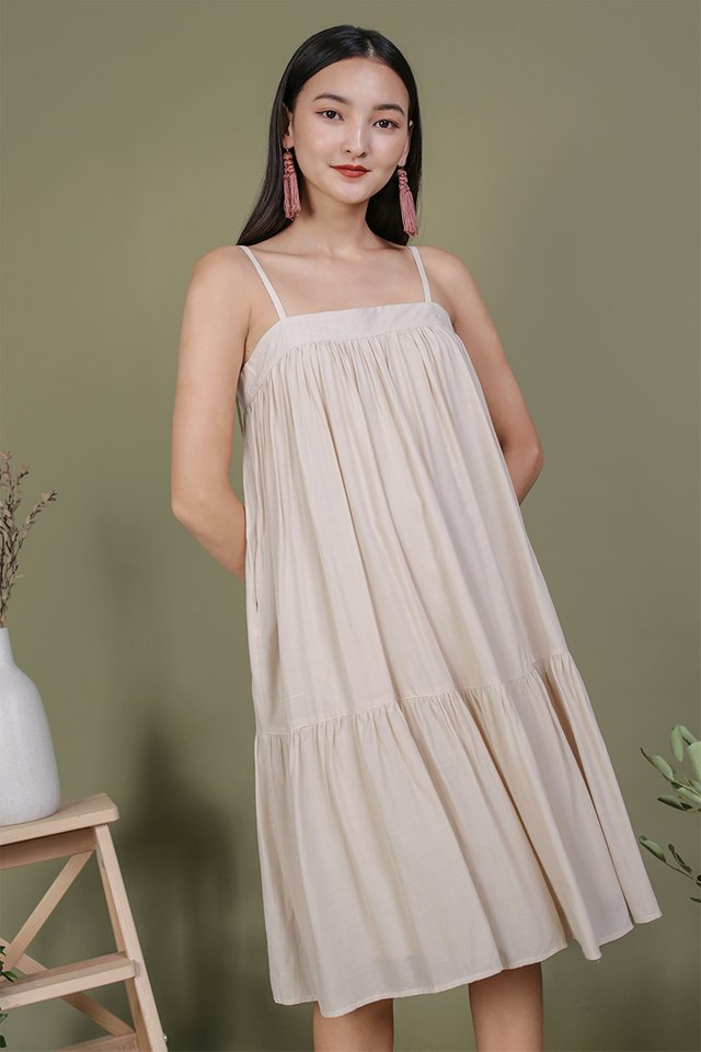 Malone Flowy Dress (Cream)