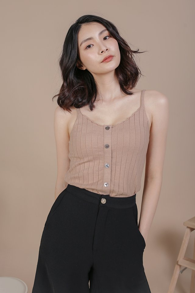 Alysia Knit Top (Wheat)