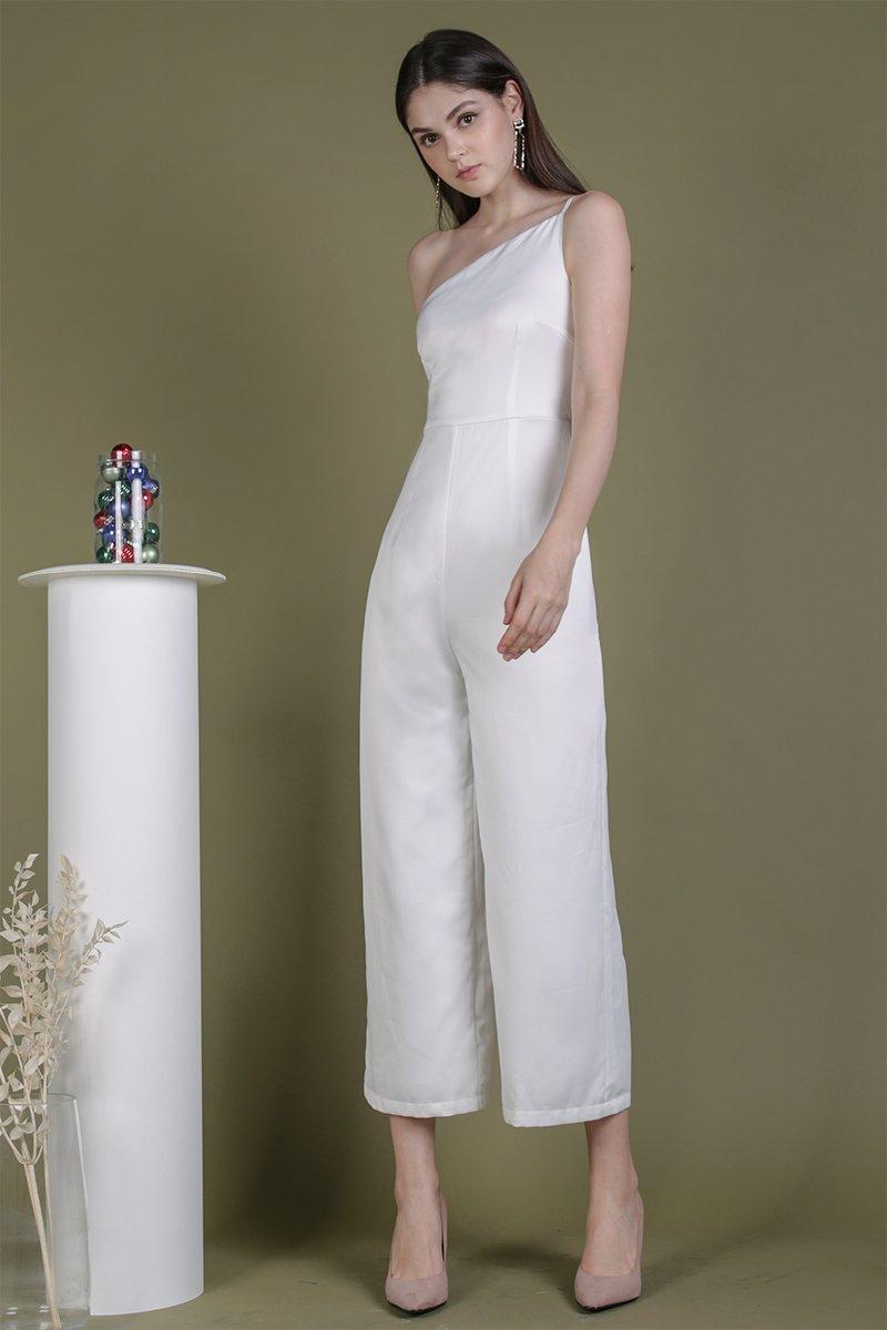 Dalia Toga Jumpsuit (White)