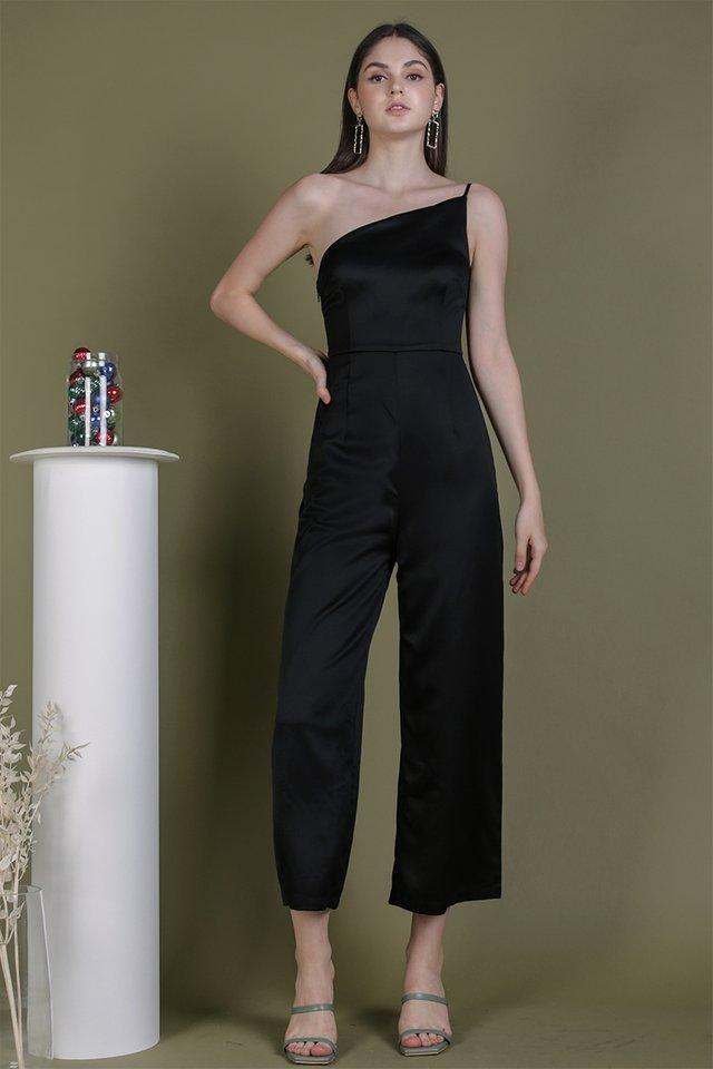 Dalia Toga Jumpsuit (Black)