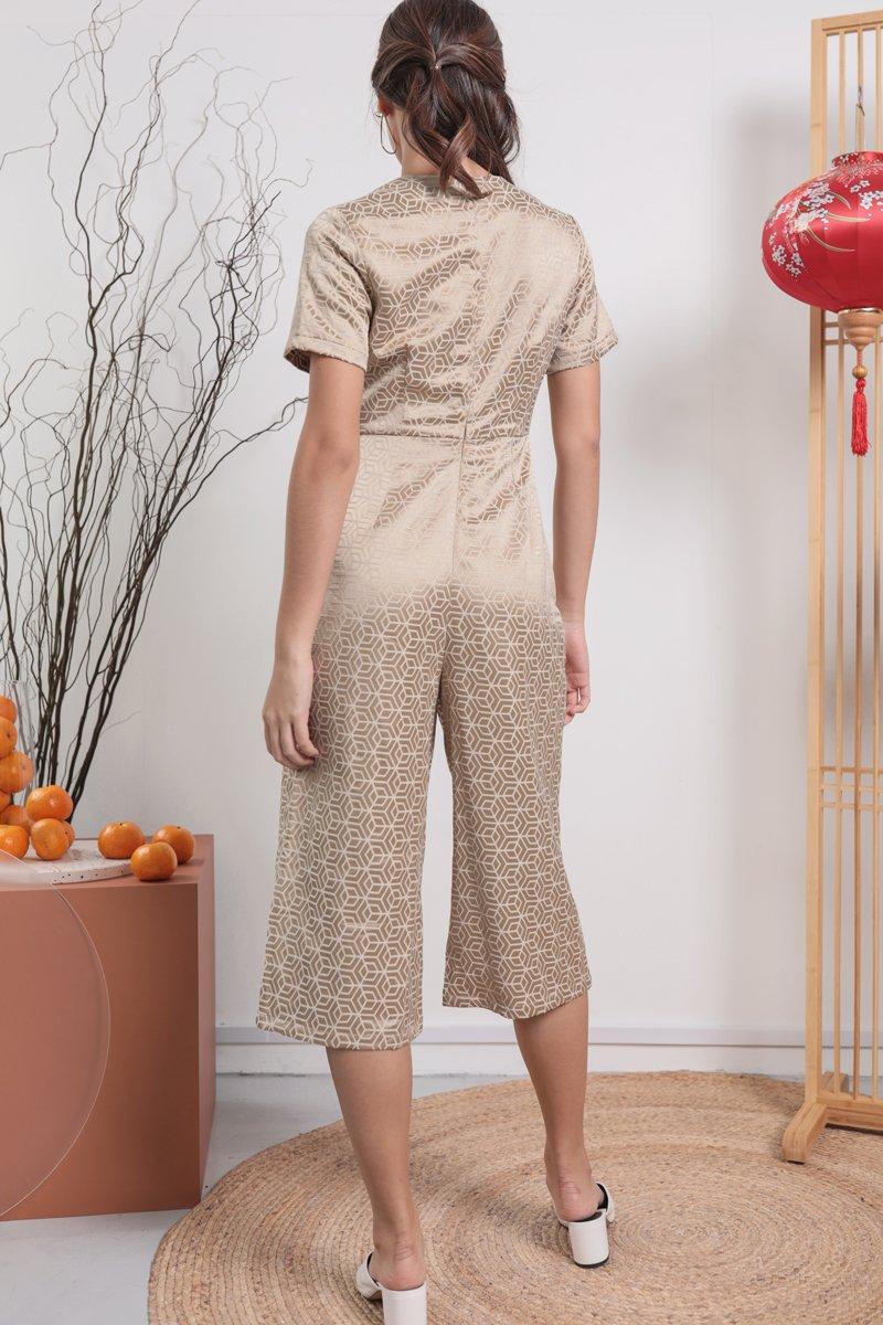 Tobi Two Way Jumpsuit (Oriental Gold)