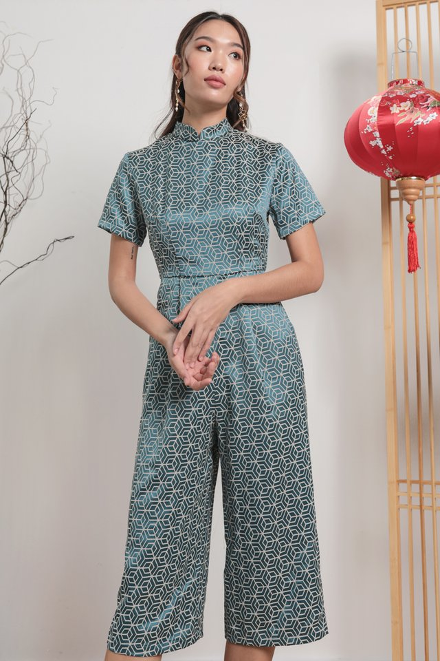 Tobi Two Way Jumpsuit (Oriental Teal)