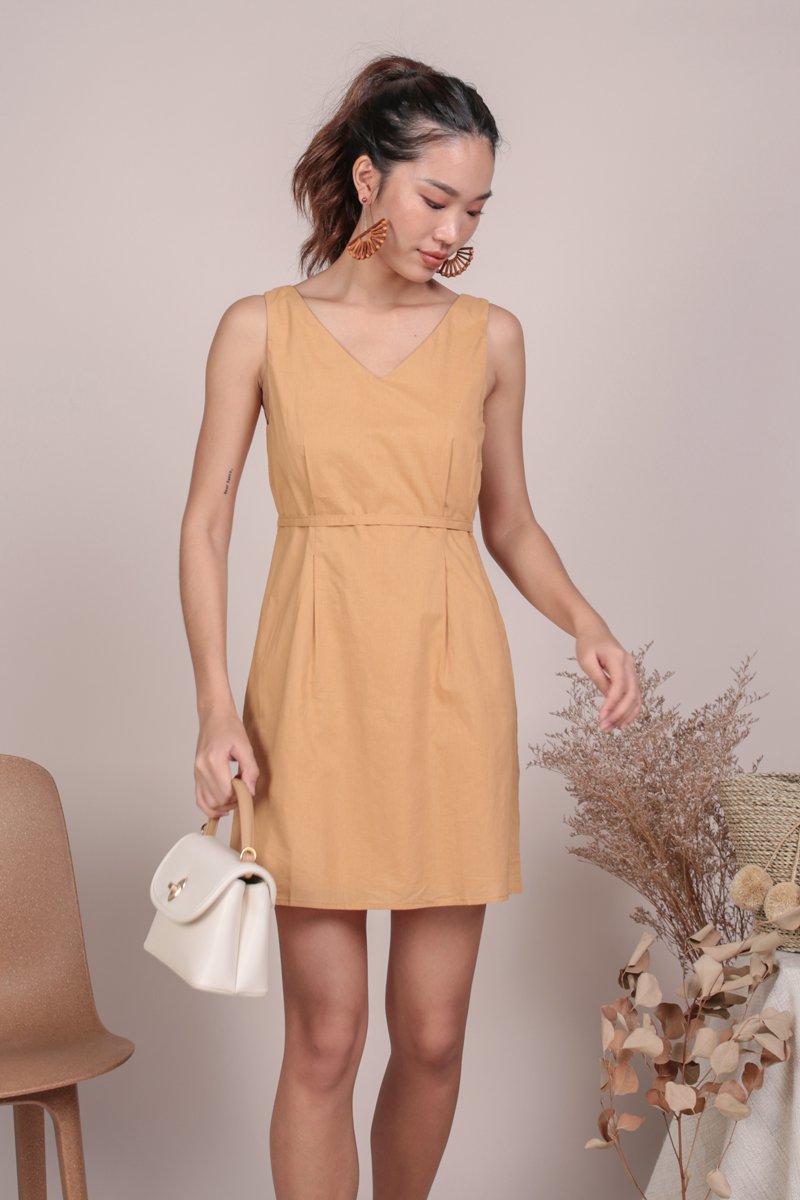 Desiree Basic Dress (Sunglow)