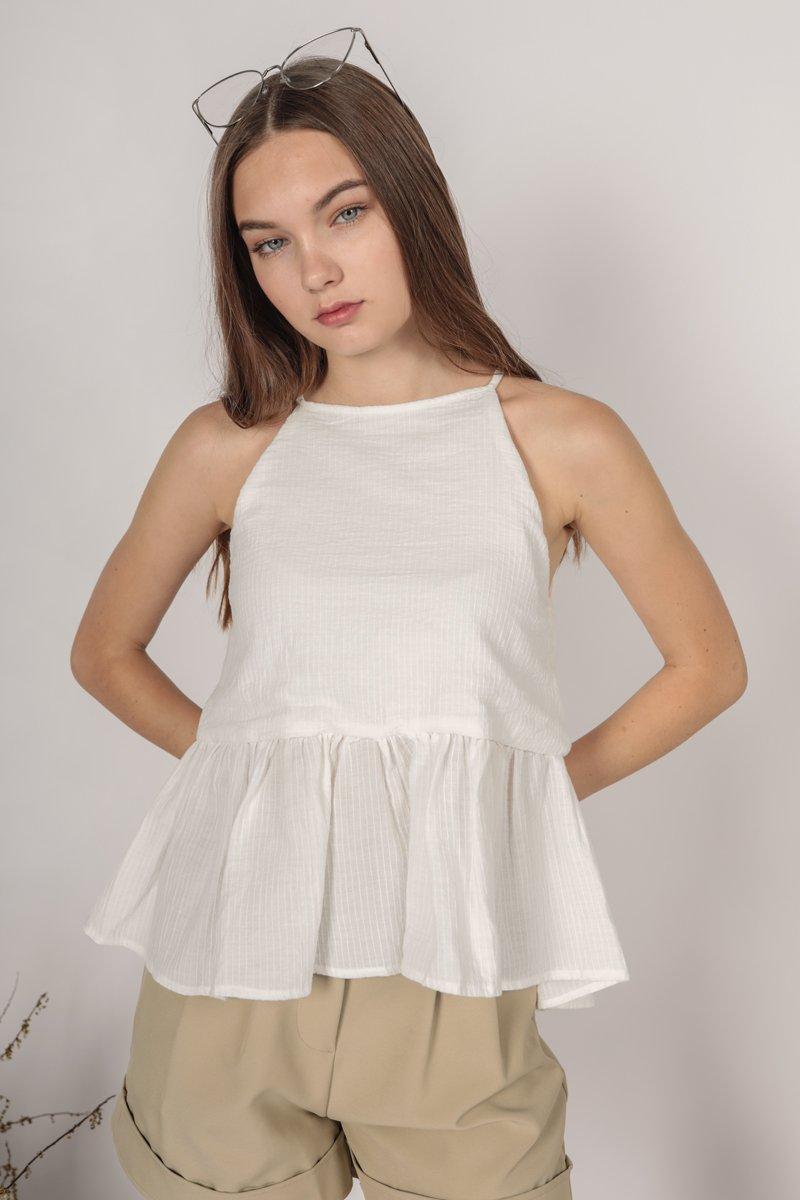 Nico Halter Top (White)