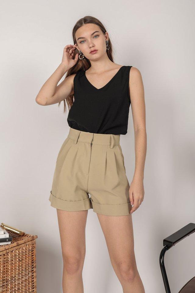 Brook Tailored Shorts (Pistachio)