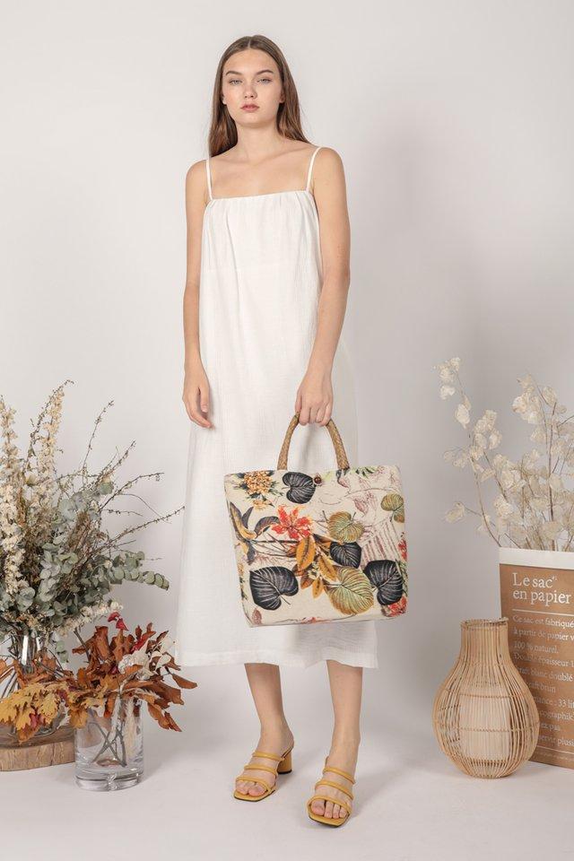 Talley Midi Dress (White)