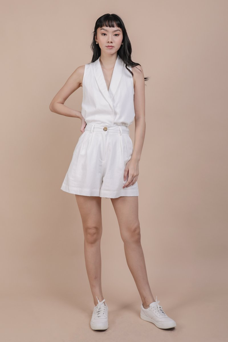 Andres Vest Top (White)