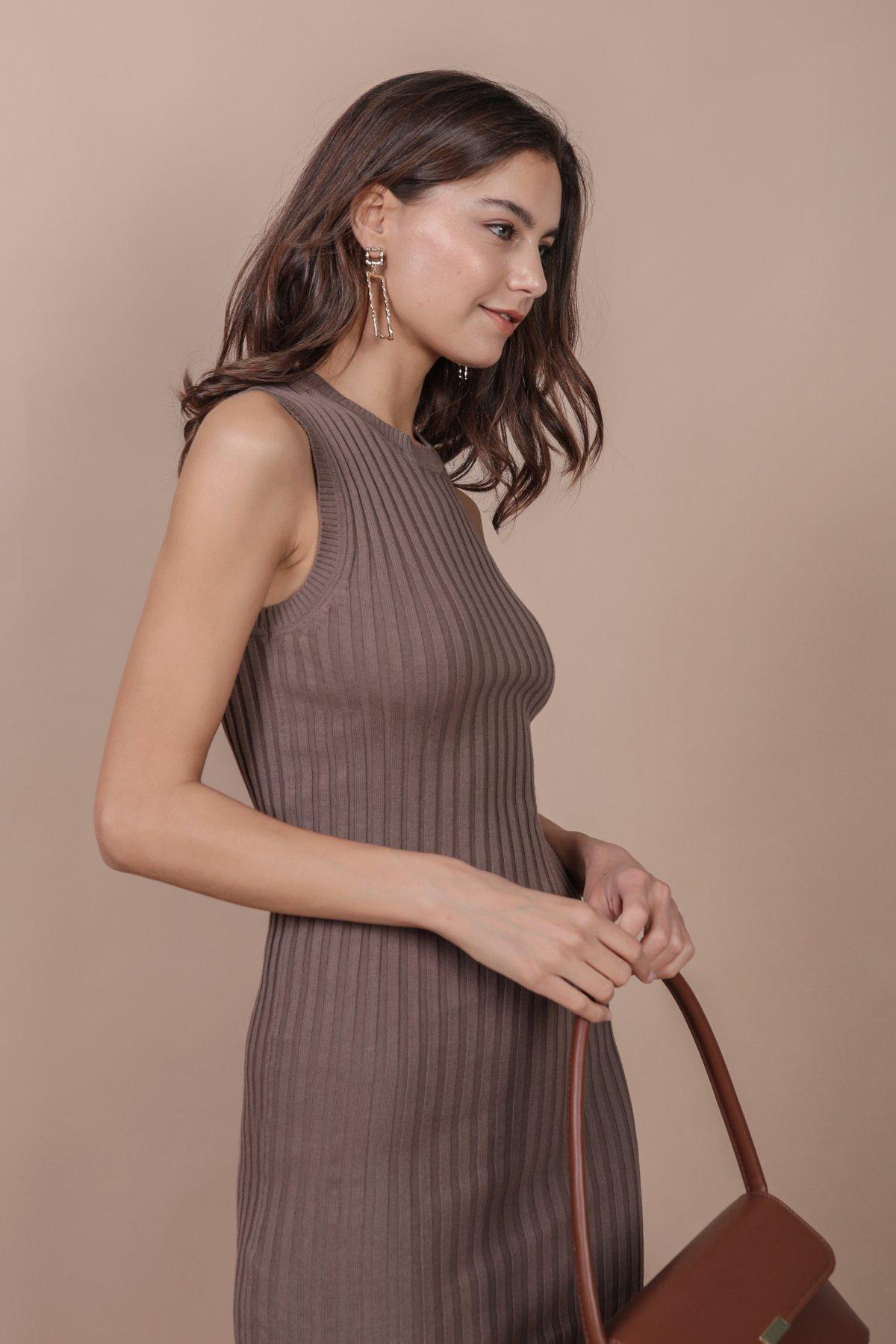 Herman Knit Dress (Mocha)