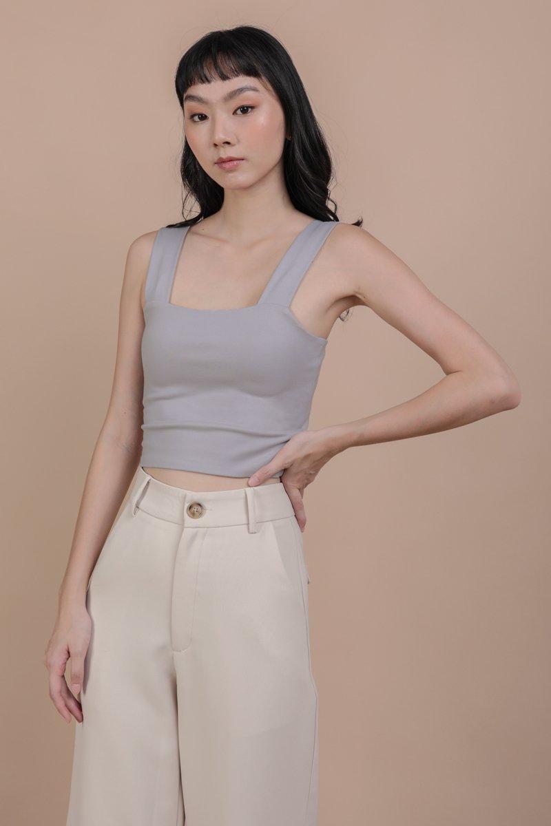 Luna Basic Top (Grey)