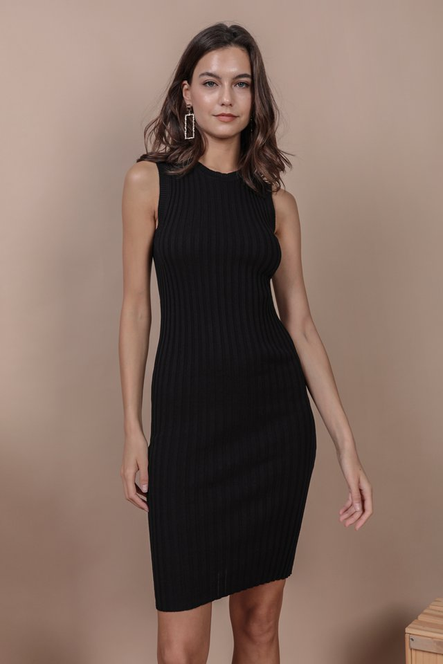 Herman Knit Dress (Black)