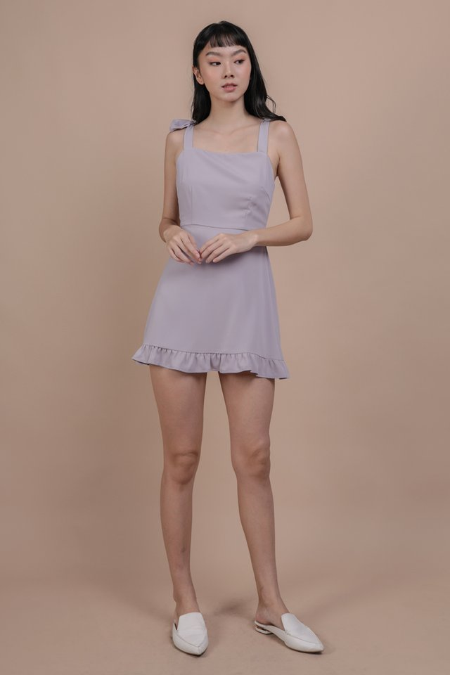 Shay Ruffles Romper (Lilac)