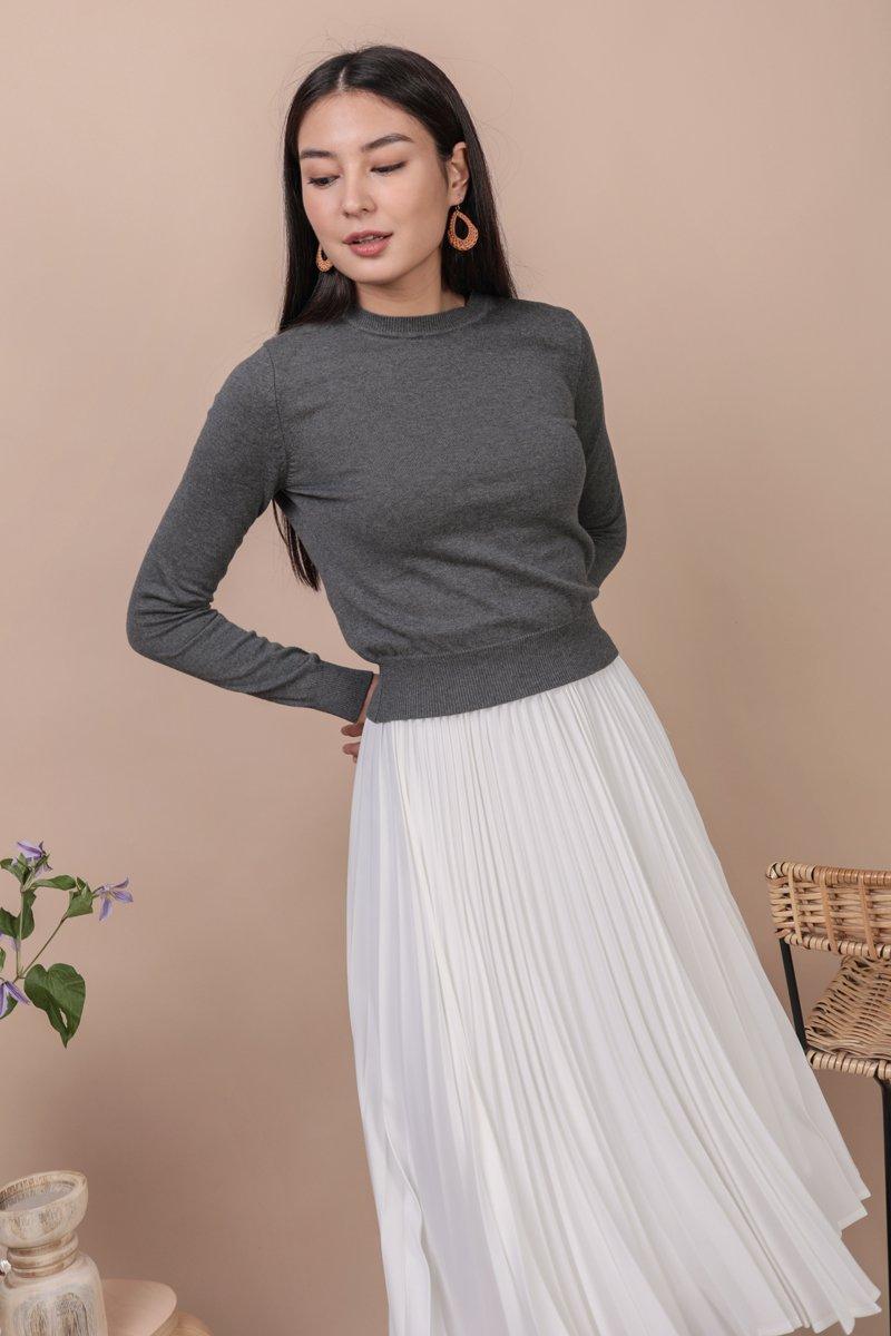 Gene Knit Pullover (Grey)
