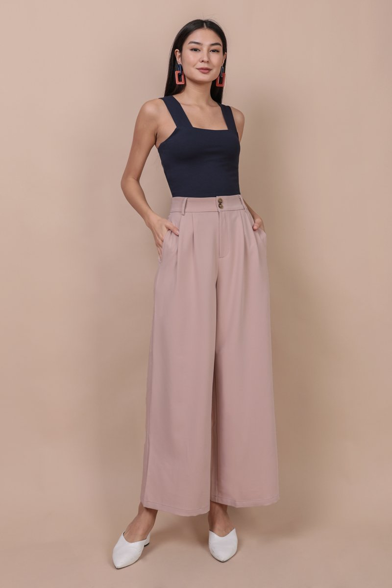 Casa Button Pants (Blossom Pink)