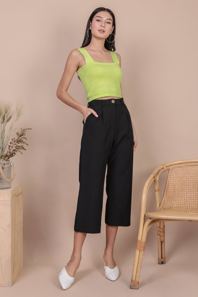 Cameron Straight Leg Pants (Black)
