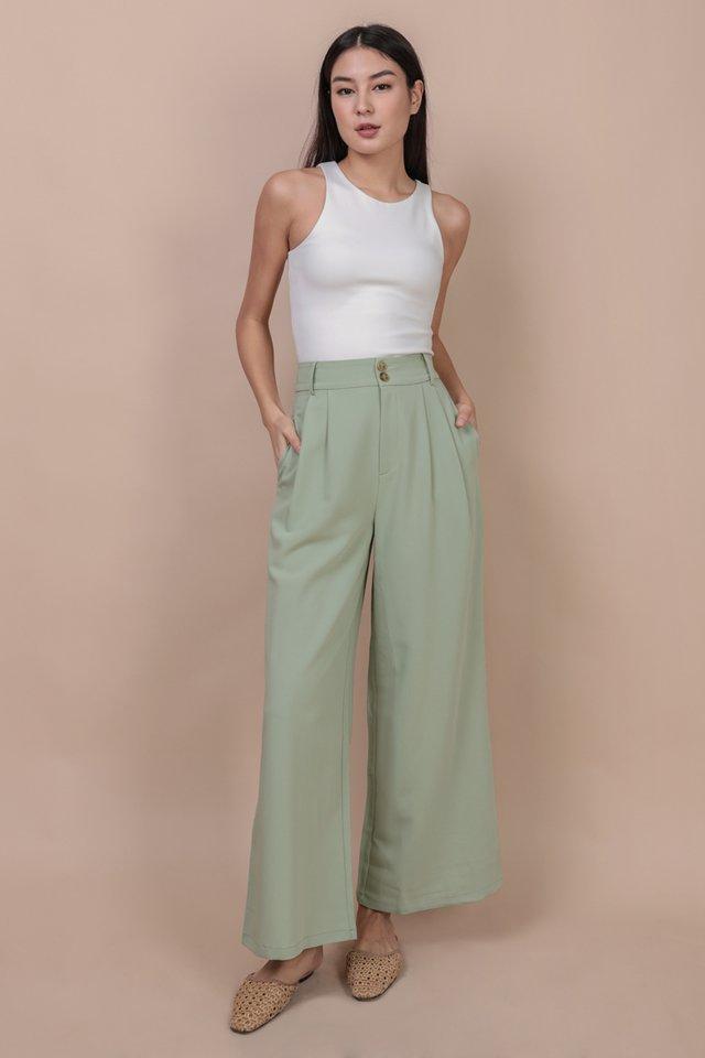 Casa Button Pants (Melon)