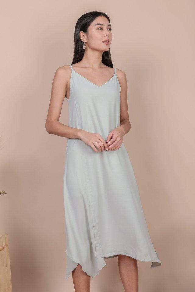 Tayla Slip Dress (Light Mint)