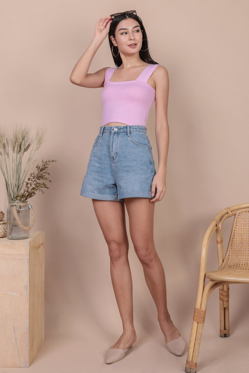 Harley Knit Top (Candy Pink)