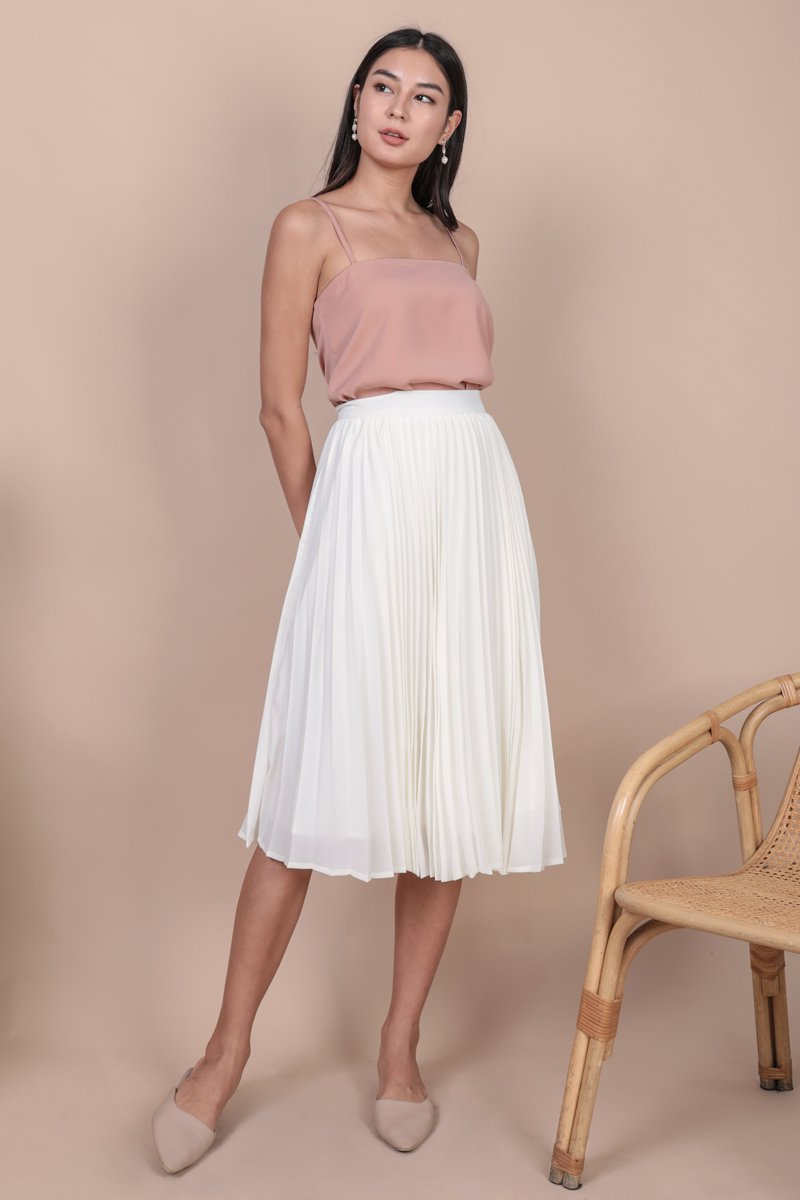 Melody Spag Top (Gentle Blush)