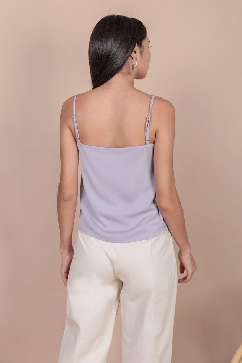 Melody Spag Top (Lilac)