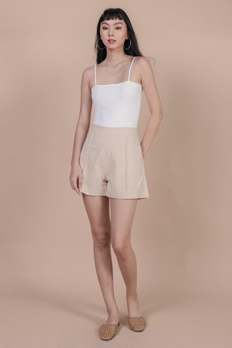 Fynn Spag Bodysuit (White)