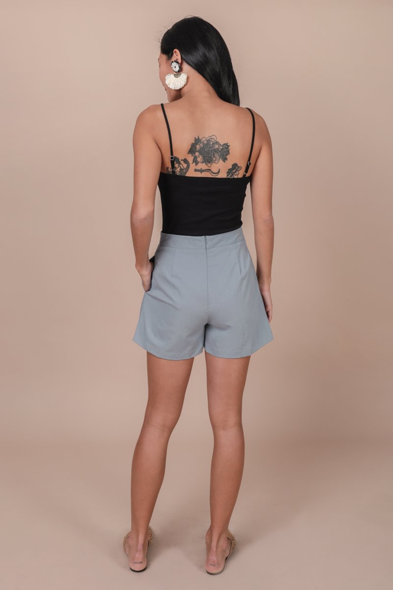 Mon Shorts (Dusty Blue)