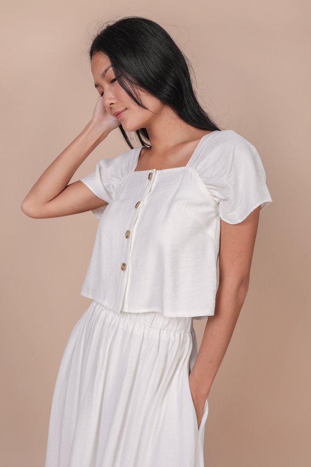 Delia Midi Set (White)