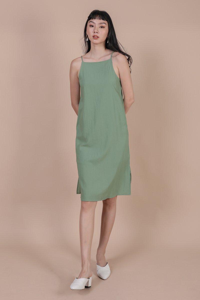Stanley Midi Dress (Fern)