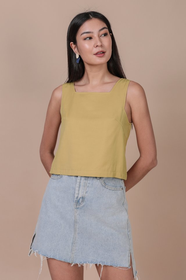 Bay Basic Top (Lemon)