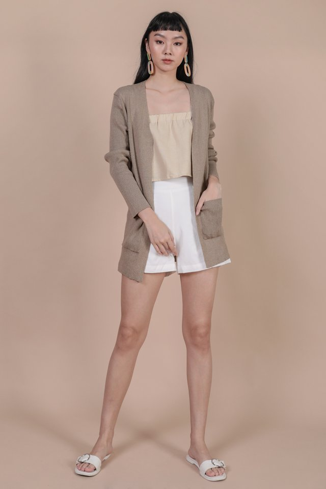 Bren Knit Cardigan (Wheat)