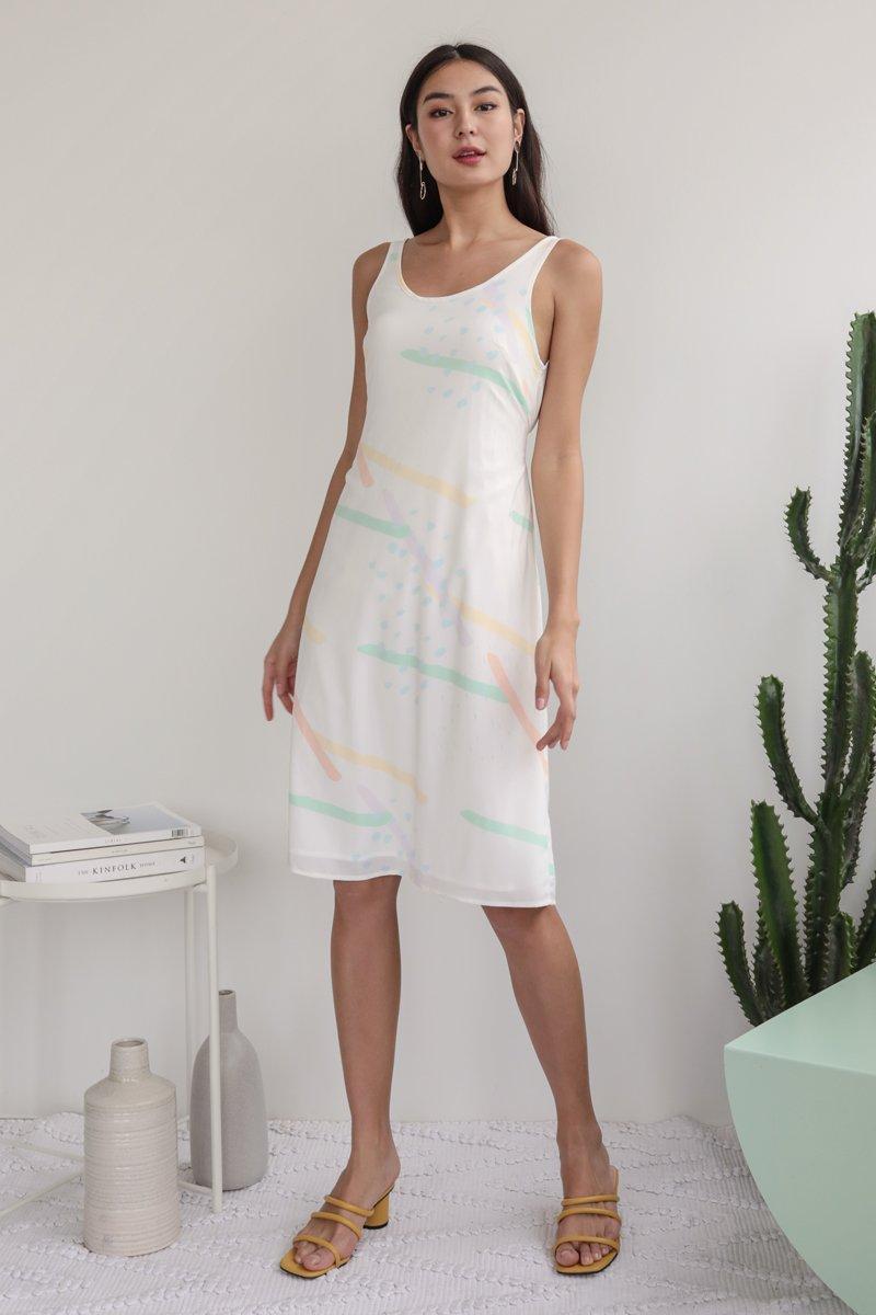 Glenda Midi Dress (Aurora)