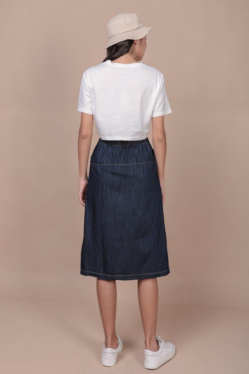 Devin Denim Skirt