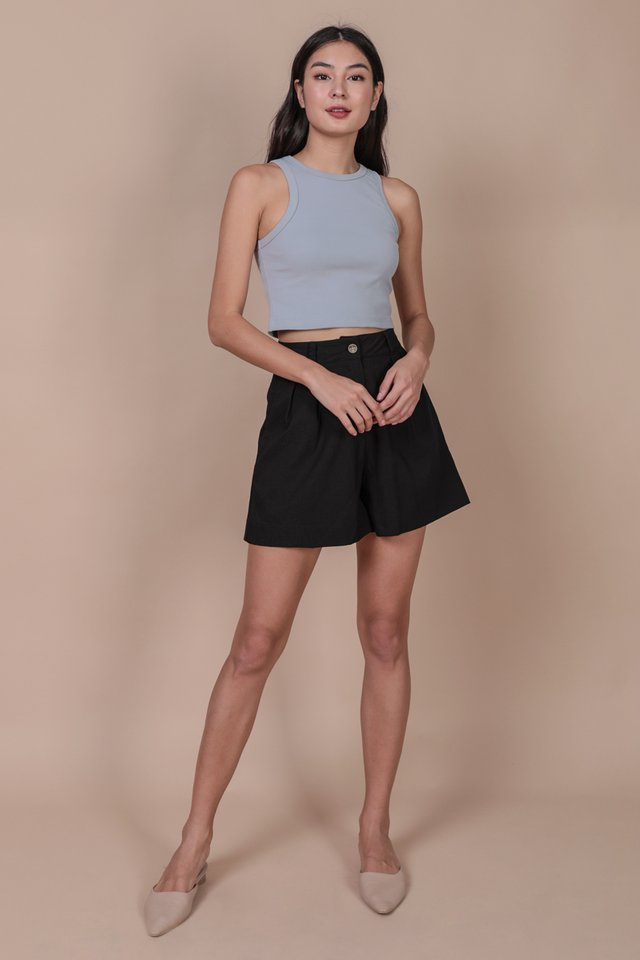 Bravo Racercut Top (Ash Blue)