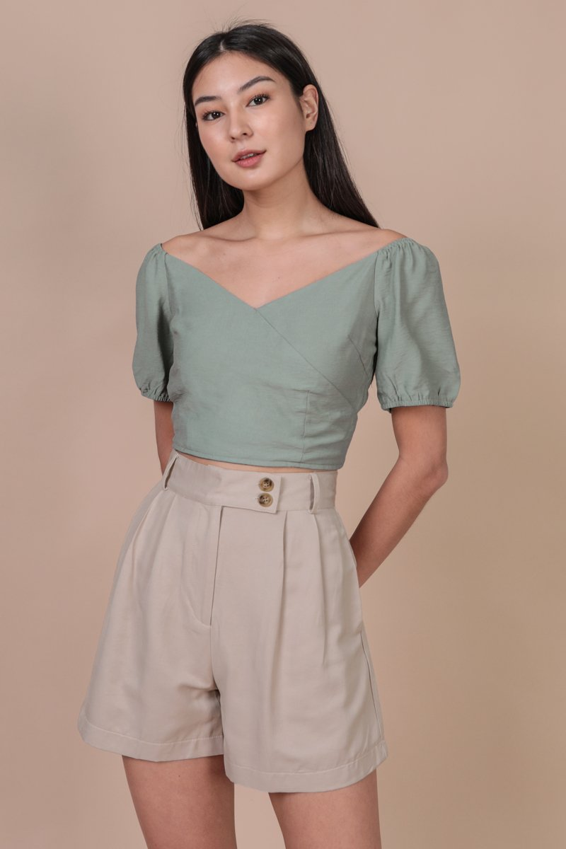 Ace Two Way Top (Seafoam)