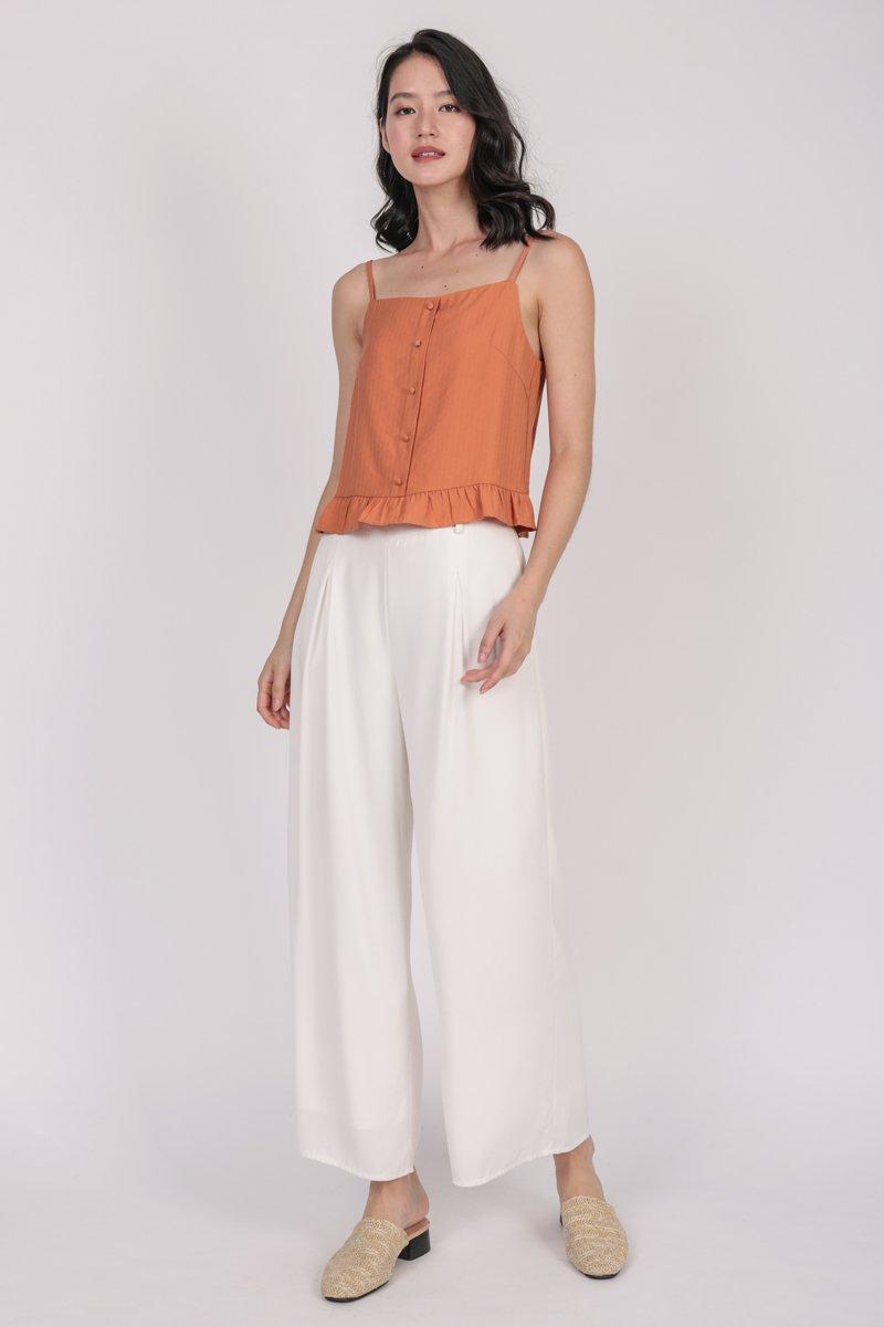 Arissa Ruffles Top (Orange)