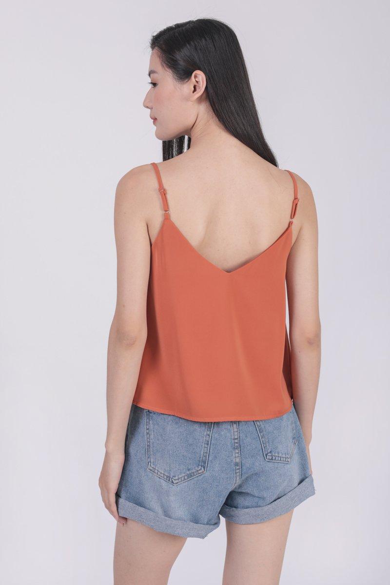 Sherry Spag Top (Orange)