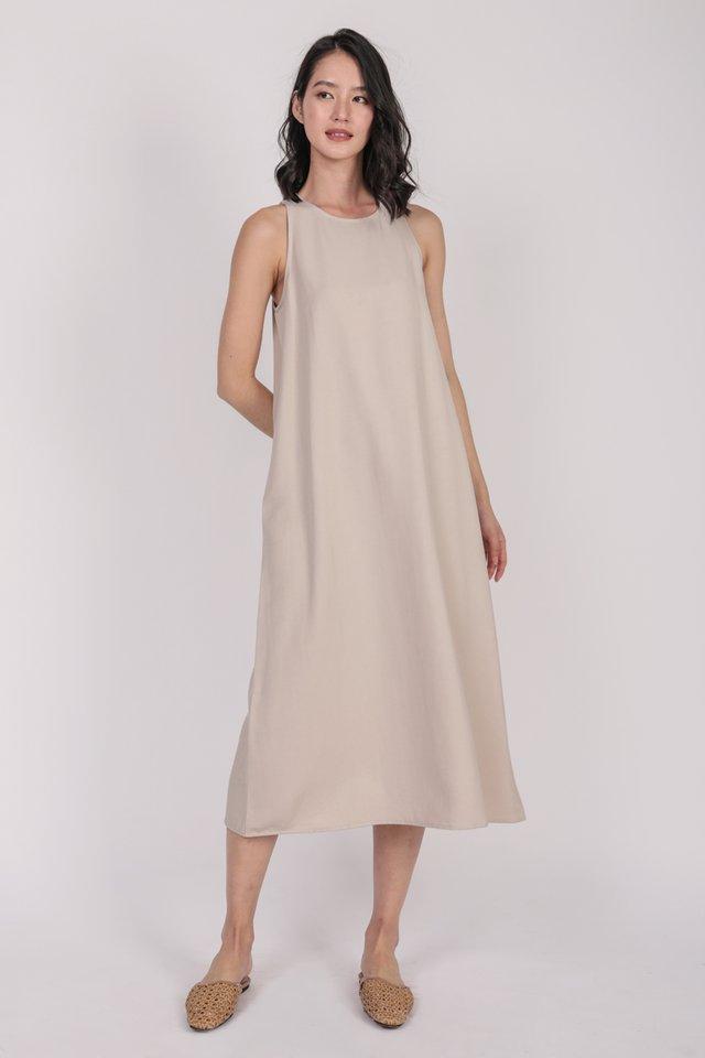 Mex Tent Dress (Beige)