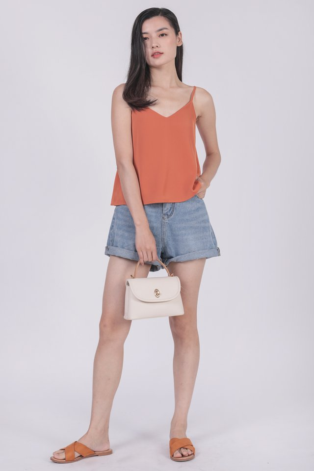Sherry Spag Top (Orange)