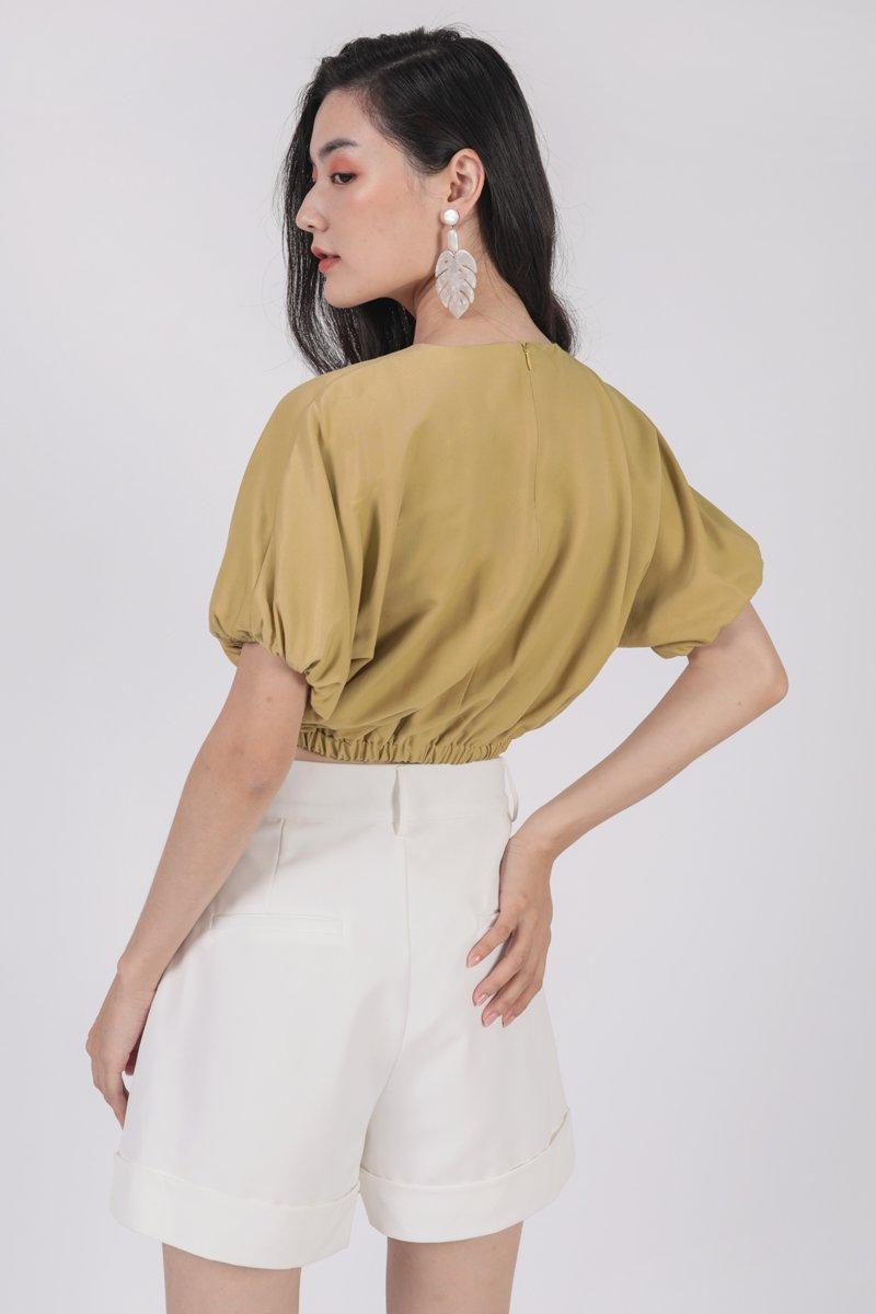 Hathaway Top (Lemon)