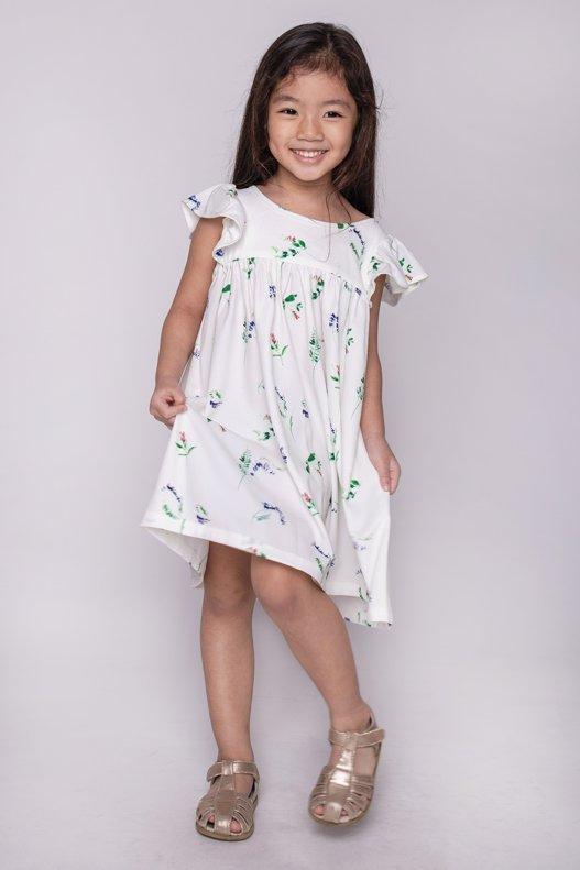 Joy Ruffles Kids Dress (Petite Fleur)