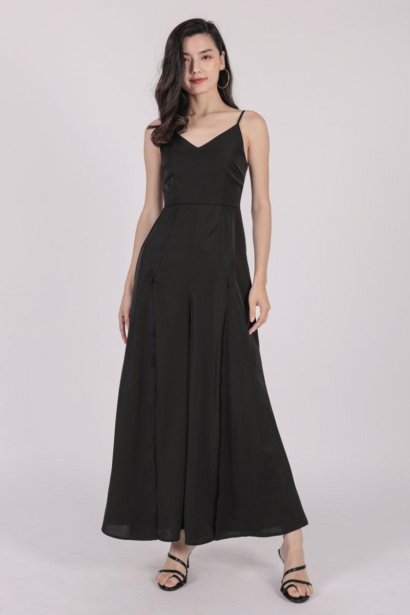 Lynda Jumpsuit (Black)