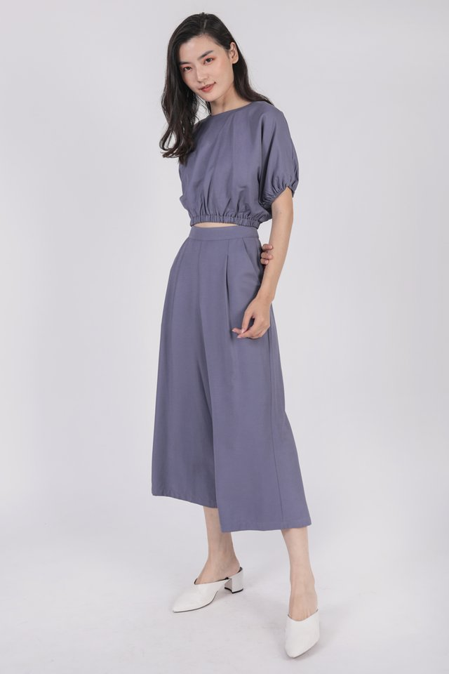 Terra Culottes (Dusty Blue)