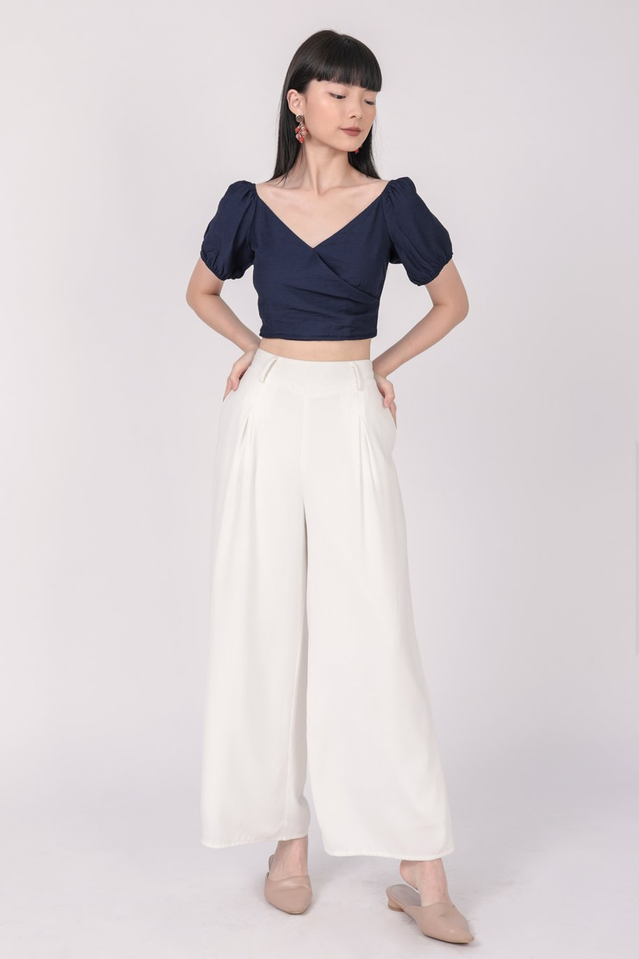 Ace Two Way Top (Navy)