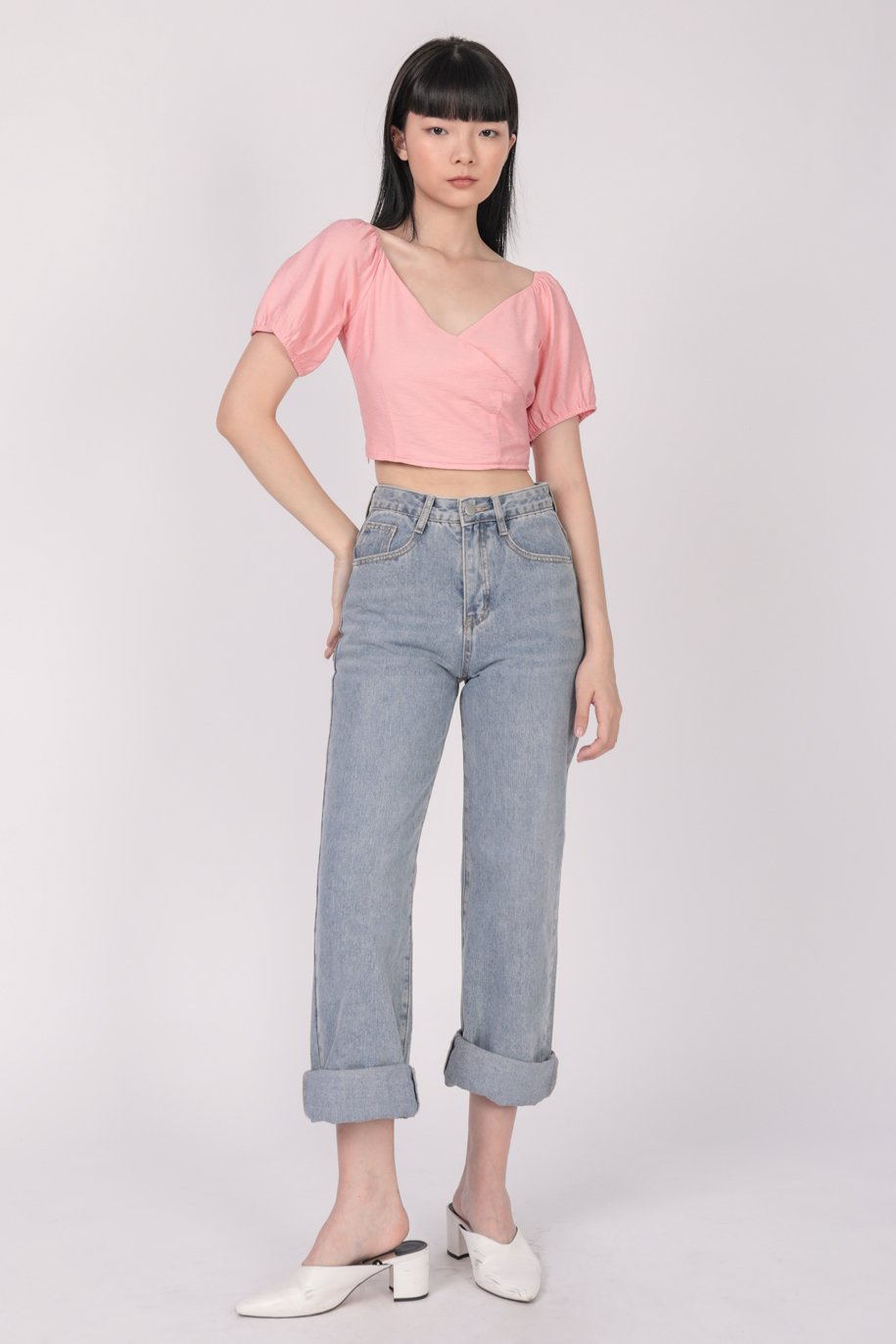 Ace Two Way Top (Pink)